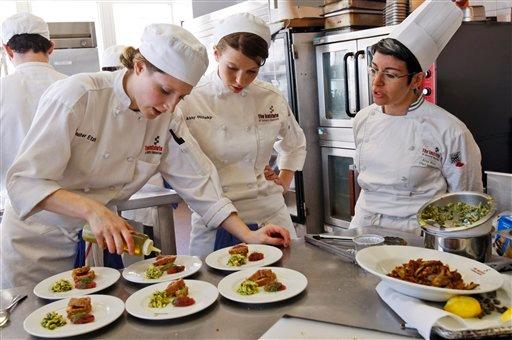 Lựa chọn theo nghề đầu bếp có khó không?